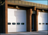 Sectional Steel Commercial Doors